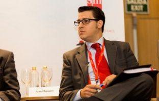 Juan Chávarri, coordinador técnico-jurídico de CECE-Madrid, durante su participación en el debate sobre acoso escolar celebrado en el 44º Congreso de CECE.