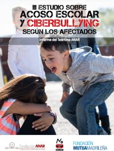Consulta el estudio completo sobre acoso escolar y cyberbulling del Teléfono ANAR.