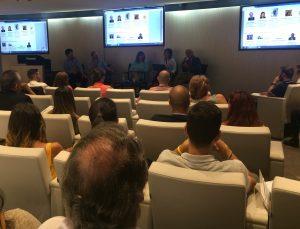 Debate sobre la formación inicial docente en el III Encuentro de Centros Innovadores de Madrid, organizado por Pere Marqués, DIM-EDU y CECE.