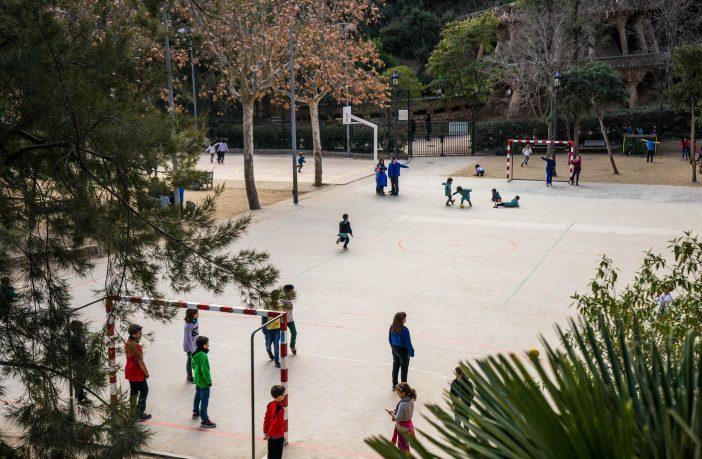 El patio es el lugar del colegio en el que se concentran más accidentes.
