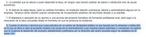 Artículo 9 de a Resolución de 5 de Febrero de la Consejería de Educación y Cultura del Principado de Asturias.