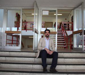 Jesús Manso, esta semana en la Facultad de Formación del Profesorado de la UAM, donde es profesor y vicedecano de Ordenación Académica.