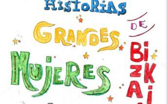 'Pequeñas historias de grandes mujeres de Bizkaia', el libro de microrrelatos de las alumnas de 5º de Primaria del Colegio Ayalde.