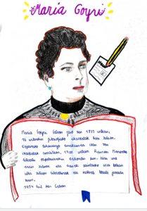 María Goyri es una de las mujeres con calle en Bilbao, cuya biografía ha sido recreada por las niñas de Ayalde.