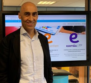 César García, director de Esemtia FP, del Grupo Edebé.