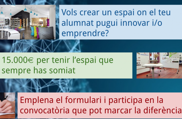 La Generalitat catalana ofrece a los centros de FP públicos hasta 15.000 euros para mejorar sus espacios.