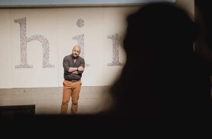 Richard Gerver fue uno de los ponentes de la jornada Eduthink, celebrada en La Rioja.