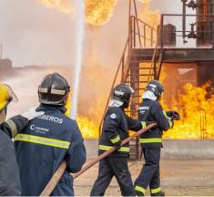 Formación Profesional para Emergencias e Incendios, en el centro más veterano