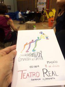 Los docentes que realizaron el curso LÓVA este verano en Madrid fundaron la compañía 'Más alto, por favor' y crearon la ópera 'Bebe Vida', que representaron el 8 de julio ante más de 100 espectadores.
