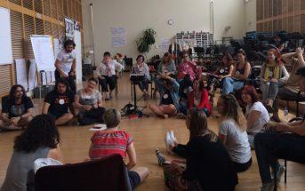 24 docentes de varias CCAA participaron en el curso de formación del Proyecto LÓVA que tuvo lugar en el Teatro Real de Madrid del 1 al 8 de julio. A lo largo del mes se han celebrado más cursos en Valencia, Murcia y Ferrol.