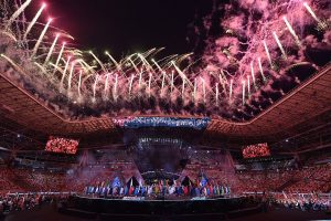 Ceremonia de inauguración de las World Skills de Kazan (Rusia) el pasado 22 de agosto.
