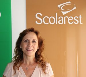 María Fe Zarco, Area Manager de Scolarest.