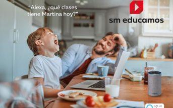 La Inteligencia Artificial de Alexa, en el ecosistema digital SM Educamos