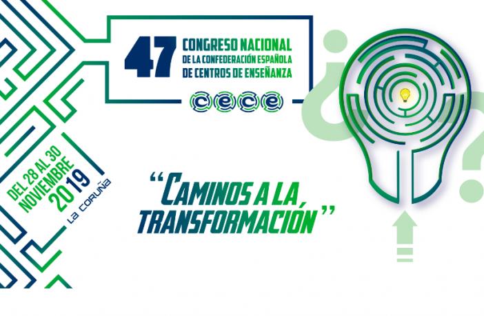 El 47º Congreso Nacional de CECE se celebrará del 28 al 30 de noviembre en A Coruña.