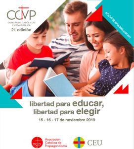 Consulta aquí el programa del 21º Congreso Católicos y Vida Pública.