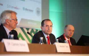 Alfonso Aguiló, durante una intervención en el 47º Congreso Nacional de CECE.