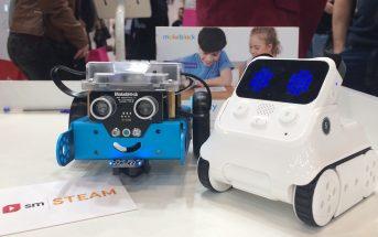 Codey Rocky y M-Bot, los robots de SM para desarrollar el pensamiento computacional y la cultura maker en el aula.