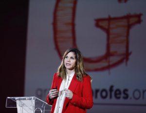 La psiquiatra Marian Rojas, en la 7ª edición de Grandes Profes, el pasado 1 de febrero en Madrid.