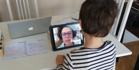 Colegio NClic de Vitoria: mucho contacto con las familias y dos sesiones online semanales para repasar y resolver dudas