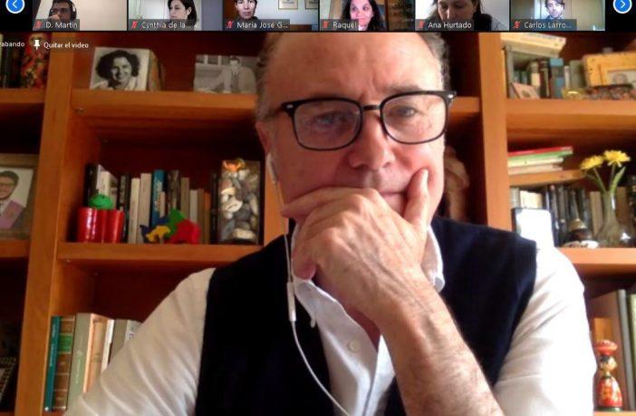 José Antonio Luengo, durante el Encuentro con Orientadores del 29 de abril organizado por CECE-Madrid.