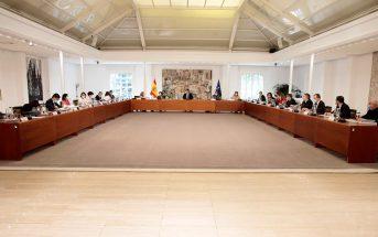 Imagen del Consejo de Ministros.