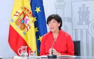 La ministra de Educación y FP, Isabel Celaá. (Foto: MEFP)