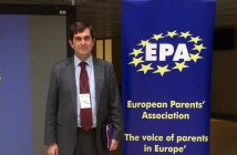 Víctor Petuya, presidente de la European Parents Association y de la FAPAE del País Vasco.