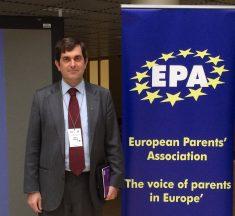 Víctor Petuya, presidente de European Parents Association: «Lo progresista en Europa es que escuela y familia vayan de la mano»