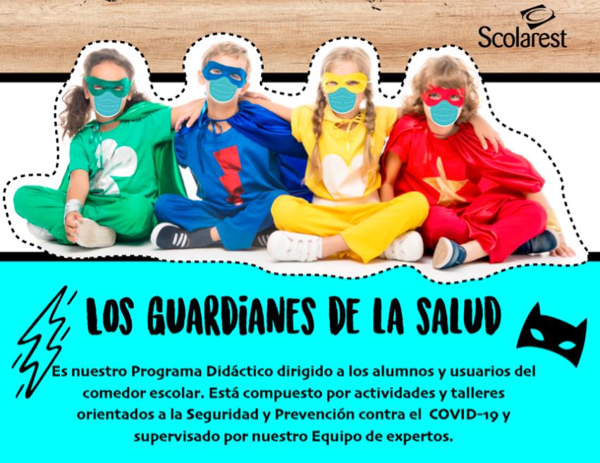 Campaña educativa para los alumnos en comedores gestionados por Scolarest, de Compass Group España)