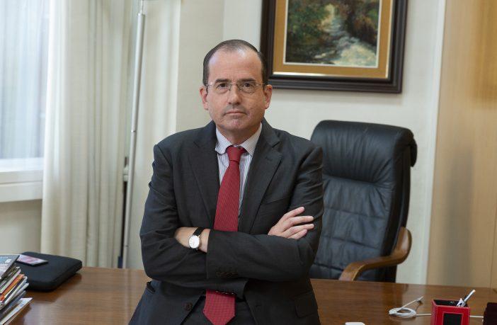 El presidente de CECE, Alfonso Aguiló, reclama que se legisle sin atacar a nadie. (Foto: Jorge Zorrilla)