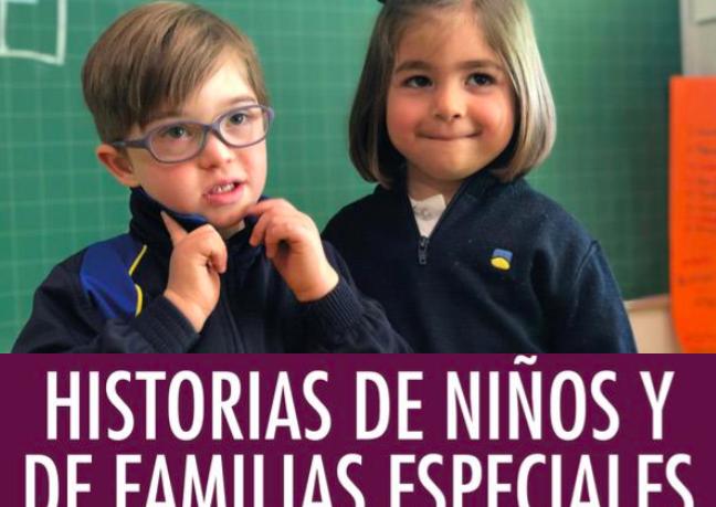 Historias de niños y de familias especiales (Digital Reasons, 2020), está escrito por Laura Serrano y Nacho Martín.